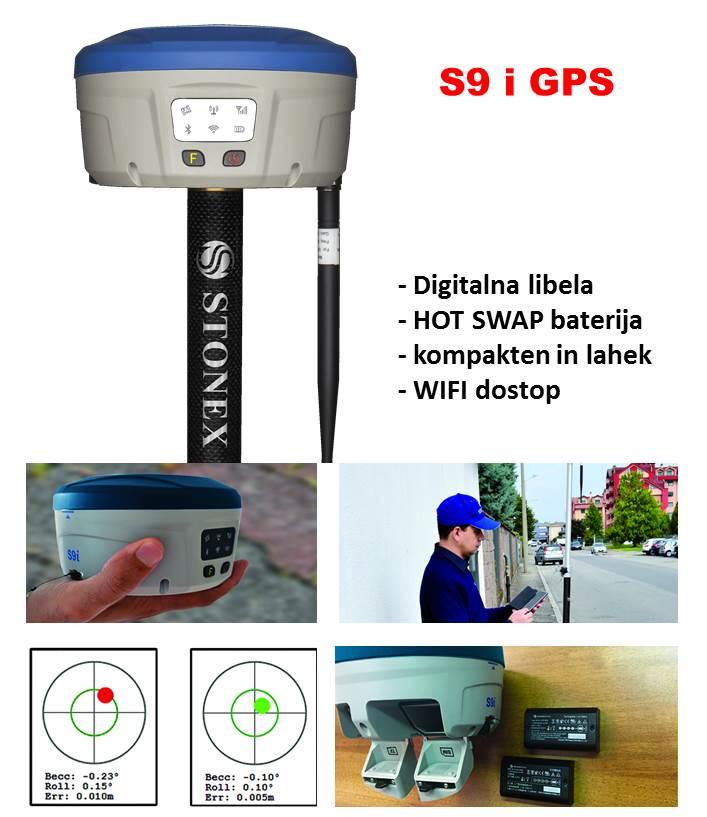 Geodetski GPS S9i
